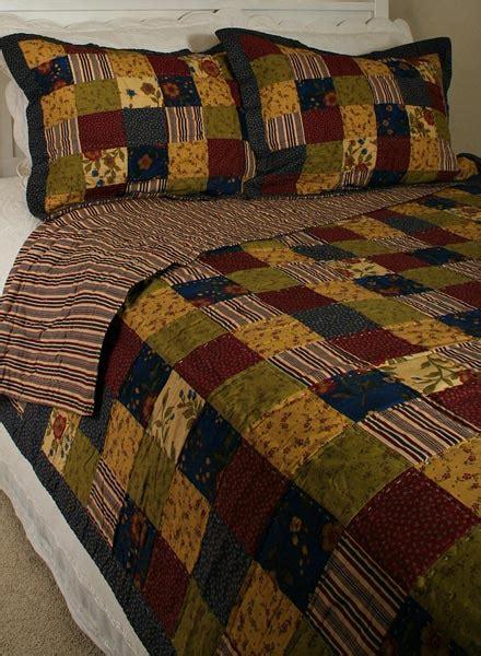 Primitive Patchwork - primitive bedding sets primitive americana patchwork