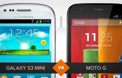 moto g ou galaxy s3 mini veja o comparativo de celular da semana compara 231 245 es