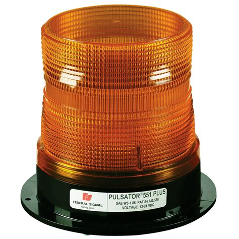 Federal Signal Lights by Federal Signal Pulsator 551 Plus Strobe Beacon Free Shipping