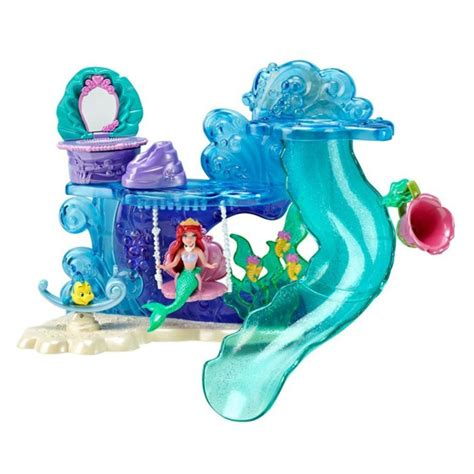 ariel bathtub toy the little mermaid toys bath time playset at toystop