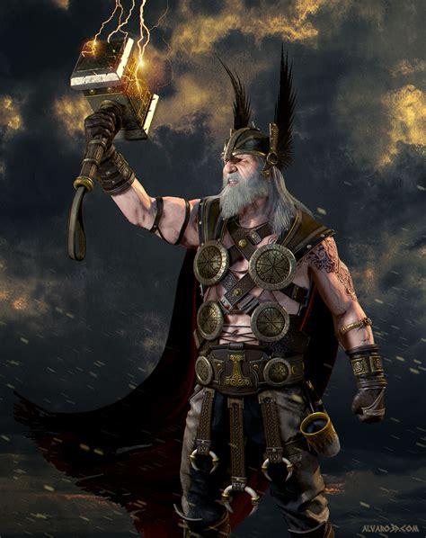 ancient god thor ancient thor