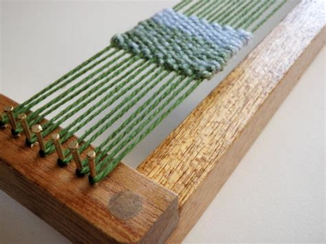 Handmade Loom - weaving loom kit for weaving by sewnina on etsy
