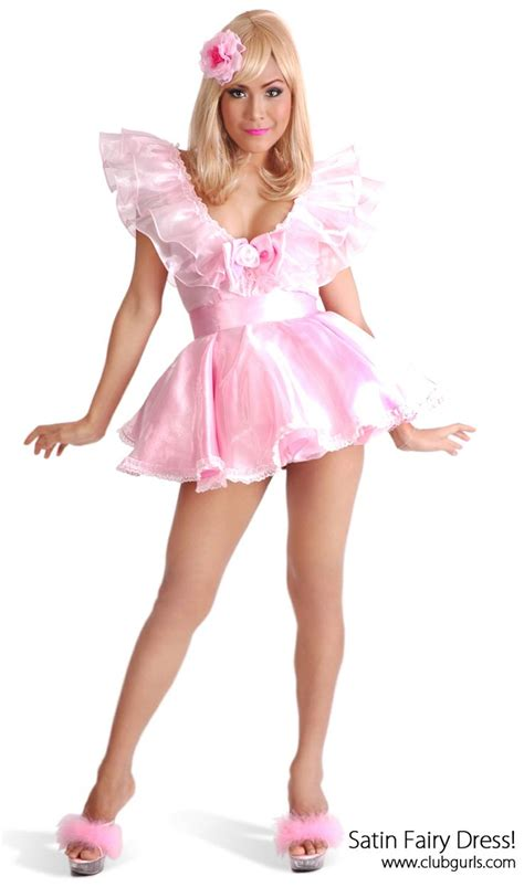 pinterest satin feminization satin fairy dress sissies and french maids pinterest