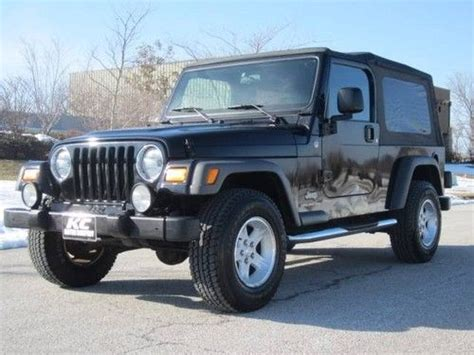 Jeep Wrangler Unlimited Top Speed Purchase Used Jeep Wrangler Unlimited 4x4 6 Speed Manual 2