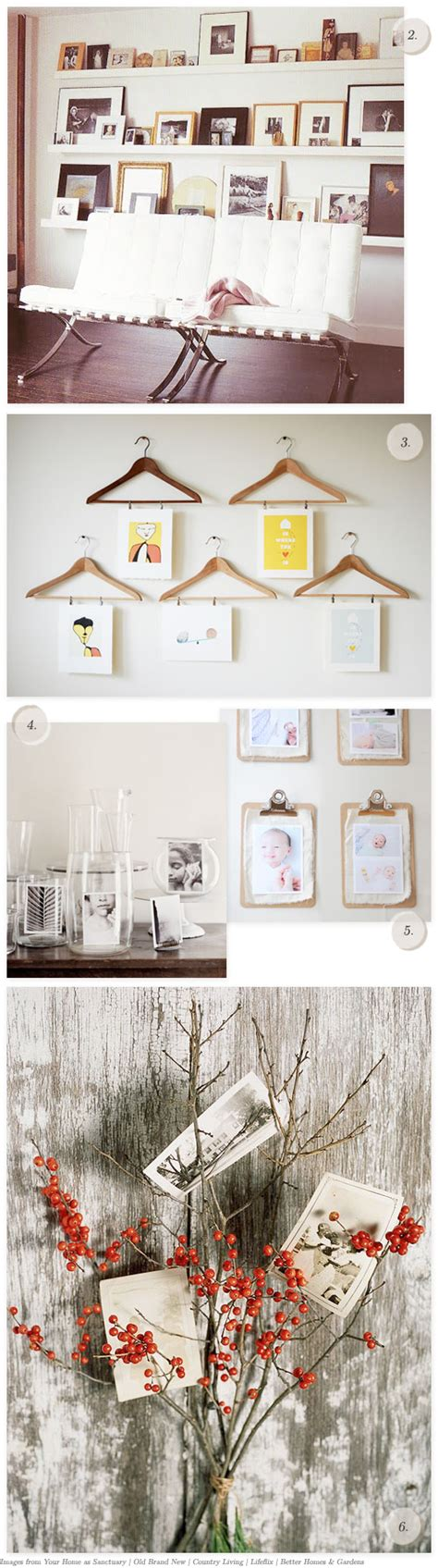 ways to display pictures 6 creative ways to display pictures
