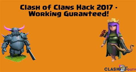 clash of duty gamers paradise tech news you can get clash of clans hack 2017 clash of clans fhx server