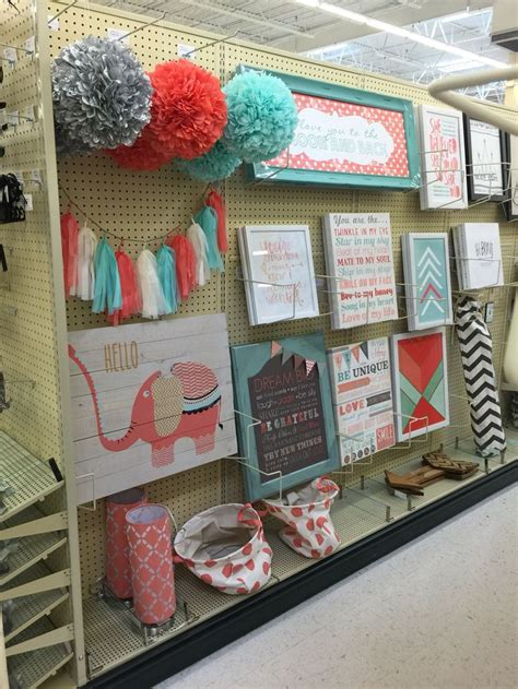 mint coral decorations hobby lobby j s nursery room