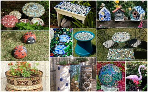 mosaic decorations for the home diy mosaic garden decorations that will fascinate you for sure