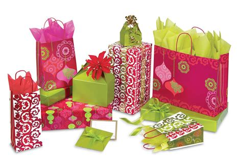 mod ornaments christmas gift bags box and wrap