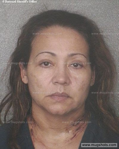 County Criminal Record Level1 Mirtha Arias Mugshot Mirtha Arias Arrest Broward County Fl Booked For Murder