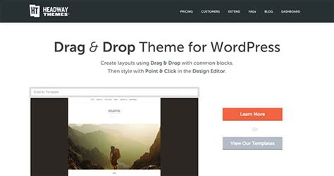 wordpress theme editor drag and drop 15 best drag and drop wordpress themes 2016 athemes