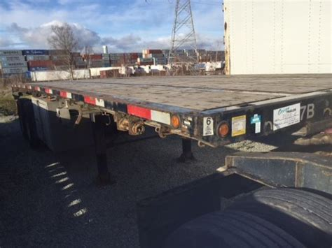 Flat Deck Trailer For Sale Bc by Trailers Flat Deck For Sale New And Used Supply Post