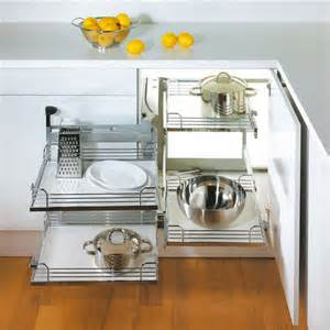 Hafele Kitchen Cabinets Hafele Magic Corner Ii For Use In Kitchen Blind Corner
