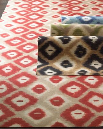 Horchow Outdoor Rugs Quot Middleton Quot Ikat Indoor Outdoor Rug Horchow Now Take It Outside Pinterest Rugs