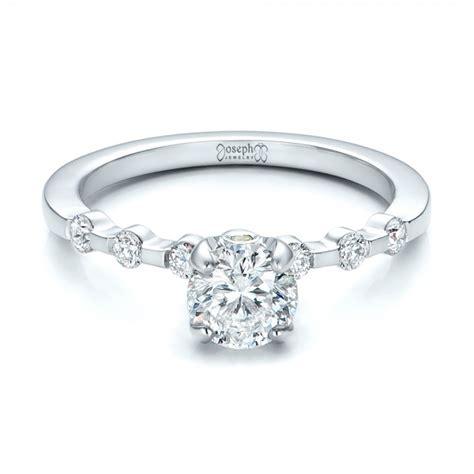 Peridot Engagement Rings by Custom And Peridot Engagement Ring 101237