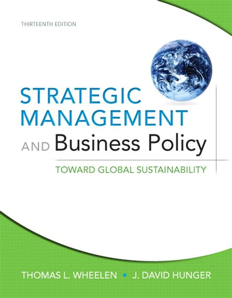 managing by strategic themes en español wheelen hunger strategic management and business policy