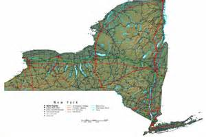 Map Ny State by New York Map Online Maps Of New York State