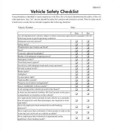 used vehicle inspection form item 7802 inspection forms