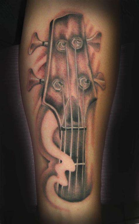 tattoo guitar neck bass guitar neck tattoo
