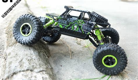 Rc Offroad Bigfoot Climber 4wd Rock Crawler 2 4 Ghz Biru 1 18 scale 2 4ghz 4x4 electric rc car 4wd remote