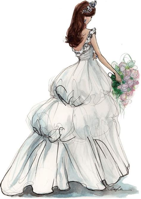 fashion illustration of dresses princess predictions inslee by design