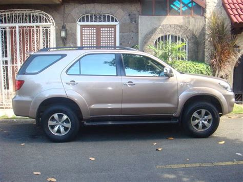 Fortuner Anti Air Ad 9050 for sale 06 fortuner 4x2 vehicles from manila