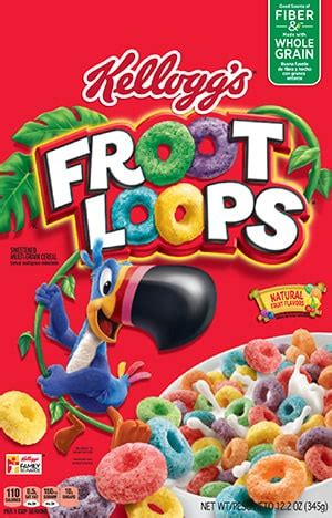 fruit loops nutrition kellogg s froot loops cereal kellogg s