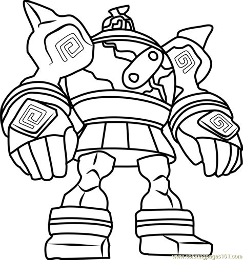 Coloring Pages In Color Golurk Pokemon Coloring Page Free Pok 233 Mon Coloring Pages by Coloring Pages In Color