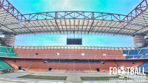 san siro away section san siro stadium inter ac milan guide football tripper