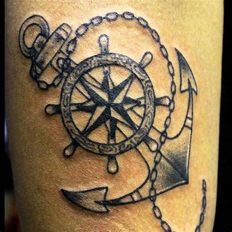 anchor steam tattoo anchor