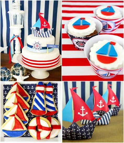sailor nautical theme nautical decorations favors ideas