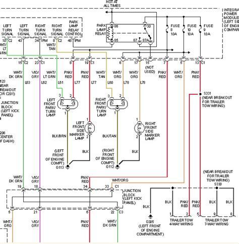 2001 dodge durango wiring diagram 2001 dodge durango trailer wiring diagram wiring diagram