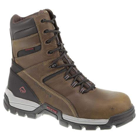 mens composite toe work boots s wolverine 174 8 quot tarmac waterproof composite toe
