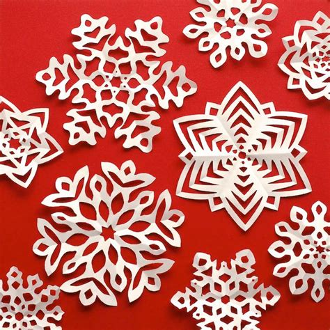 Paper Folding And Cutting Patterns - 10 ideas about snowflake template on paper
