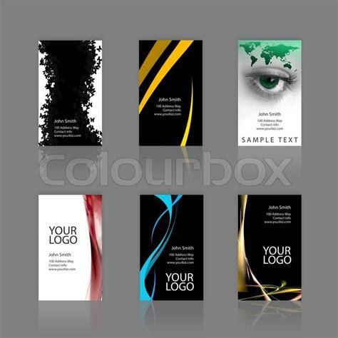 Moderne Visitenkarten Vorlagen Ein Sortiment 6 Moderne Visitenkarten Vorlagen Druckfertige Und Vollst 228 Ndig Anpassbar