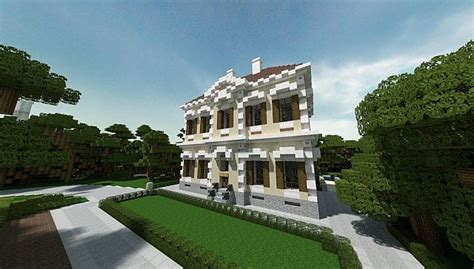 superior Building A New Home Ideas #1: Crespi-Estate-Rebuild-Minecraft-house-mansion-acres-luxury-building-ideas-2.jpg