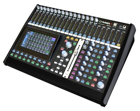 digital mixing console ashly digimix24 24 channel digital mixing console