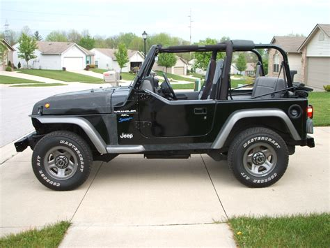 1997 Jeep Wrangler Sport Jeepclassifieds 1997 Jeep Wrangler Sport Sup