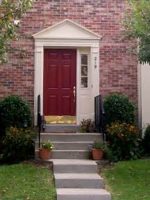 Front Door House Blossom And Bev A New Red Front Door