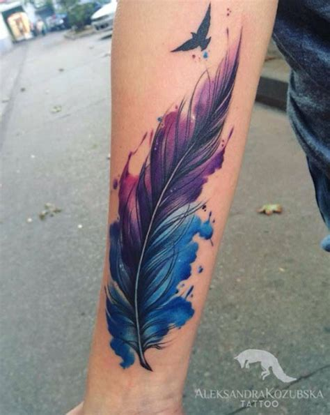 tattoo feather on arm 62 beautiful feather tattoos with meanings
