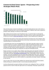 commercial real estate agents prospecting letter