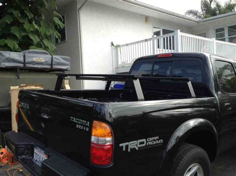 toyota ta bed rack bed rack for roof top tent santa ca tacoma world