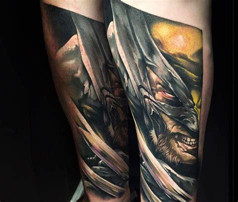 wolverine tattoos x wolverine by benjamin laukis tatuaże