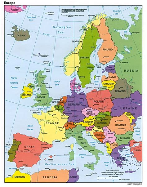 map of eurpore detailed political map of europe europe detailed