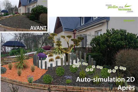 Aménagement D Un Talus by Mon Jardin Ma Terrasse