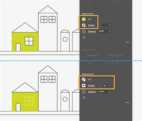 draw house illustrator how to draw buildings with shapes adobe illustrator cc