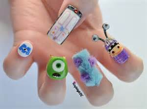 scary monsters inc nails fun kids the uk s children s