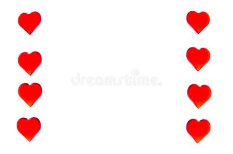 latex imagenes dos columnas corazones rojos brillantes bajo la forma de dos columnas