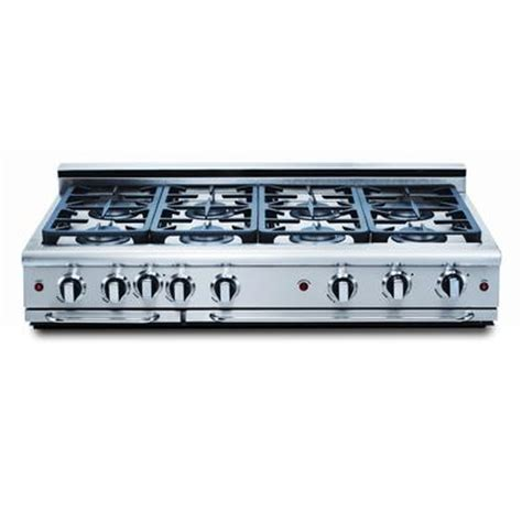 capital precision series 48 inch 8 burners range top ng