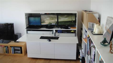 ikea office hack from generic office to stylish and productive home office